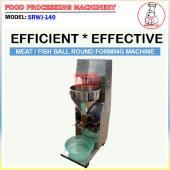 Meat / Fish Ball Round Forming Machine (SRWJ-140)