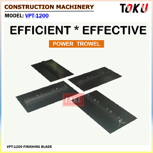 concrete trowelling machine