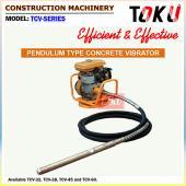 Pendulum Type Concrete Vibrator (TCV-Series)