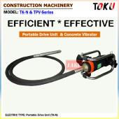 Portable Drive Unit (TK-N) & Concrete Vibrator (TPV-Series)